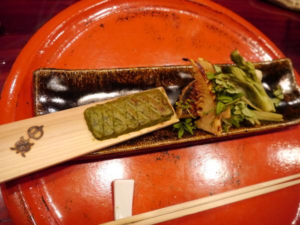 草喰 なかひがし 焼き筍