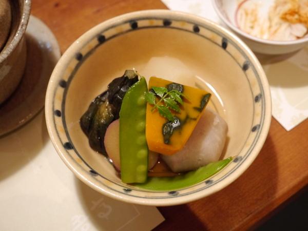 正弁丹吾亭 野菜の炊き合わせ