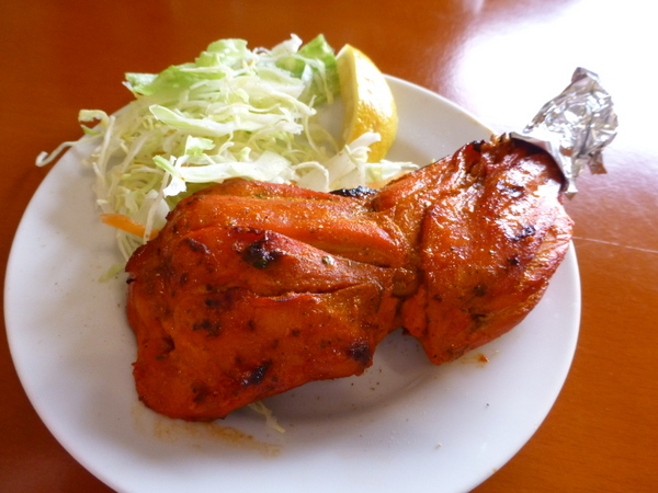 インド料理デリー ランチBセット(タンドリーチキン)