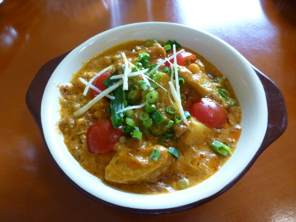 インド料理デリー 野菜カレー