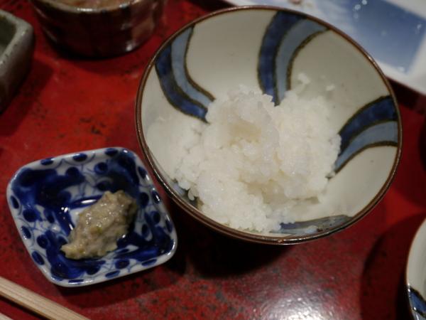 草喰なかひがし 白ご飯+ワサビ