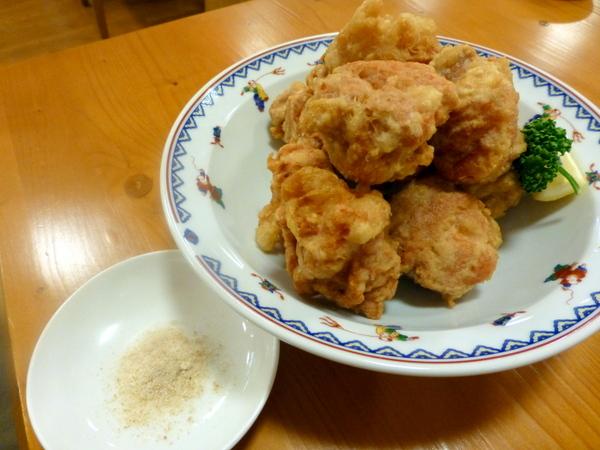 香林酒家 鶏の唐揚げ