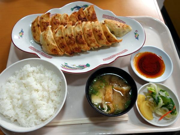 福みつ 餃子定食