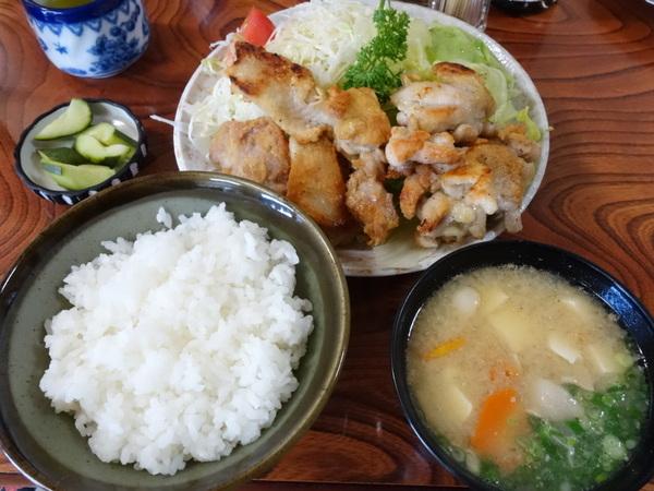 ななみ支店 チキンソテー(野菜特大&ご飯小)