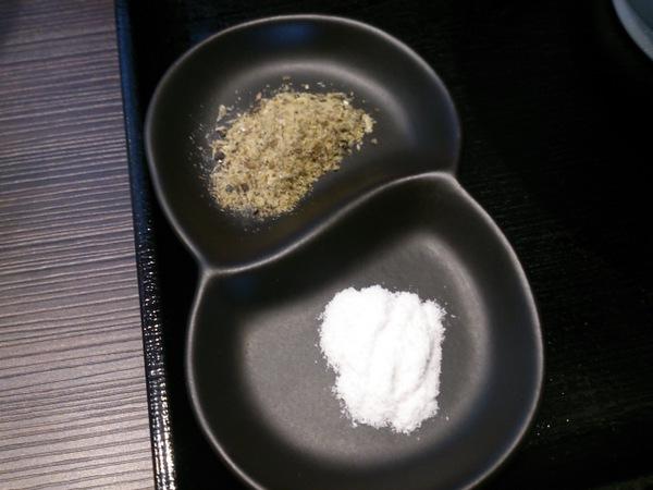 麺喰いkakeru 煮干し中華(煮干粉&塩)