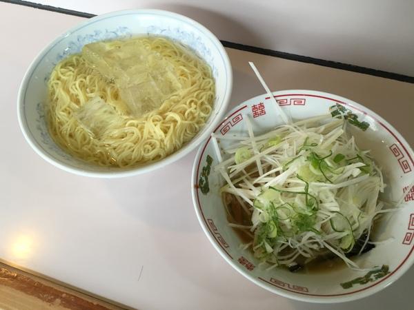 八五郎 ねぎつけ麺(特盛)