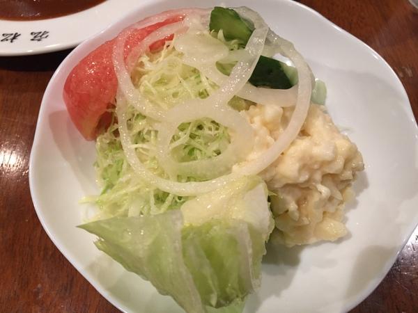 洋食宏松 野菜サラダ