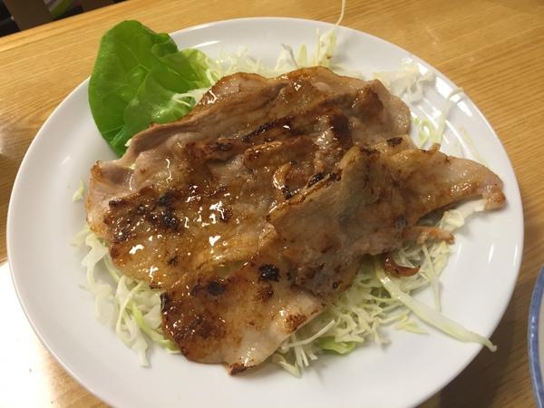 むらこし食堂 焼肉(アップ)