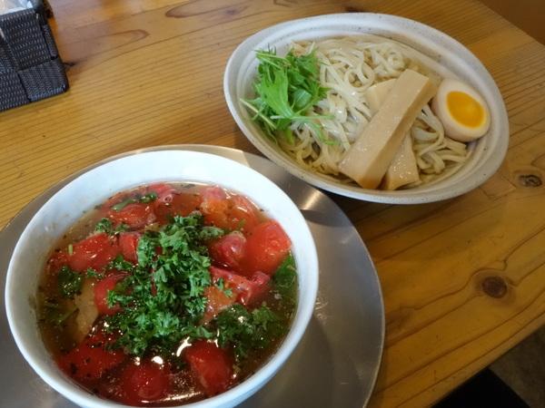 めん奏心 完熟トマトの汐つけ麺