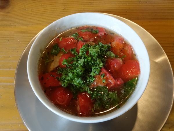 めん奏心 完熟トマトの汐つけ麺�