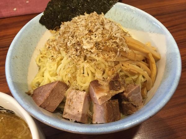 味わい亭 焙煎氷結煮干しつけ麺(麺:細麺&大盛)