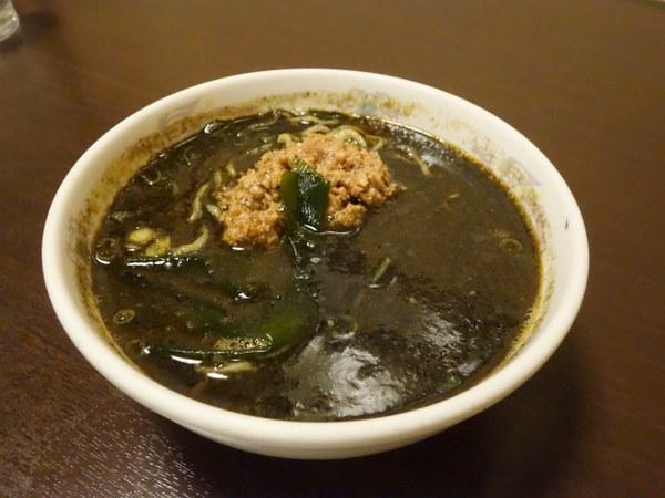 キネマ食堂 黒胡麻担々麺(小)