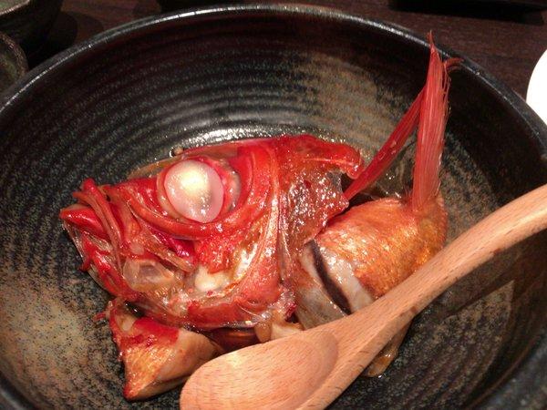 和遊旬菜ZIKAN キンメの煮付け
