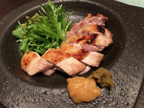 和遊旬菜ZIKAN 焼き物(鶏肉)