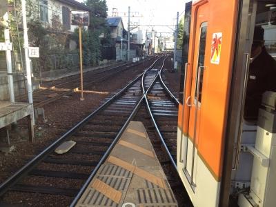 出町柳駅ホーム