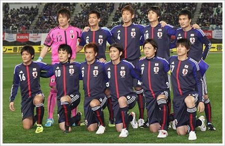 日本代表 新ユニフォーム