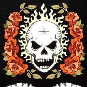 髑髏と薔薇
