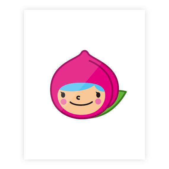 ももたん岡山弁カード「フルーツパフェ味」