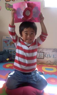 2014年Mothers Day craft  Aki 1.JPG