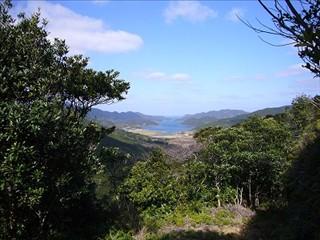 久賀湾も見えました