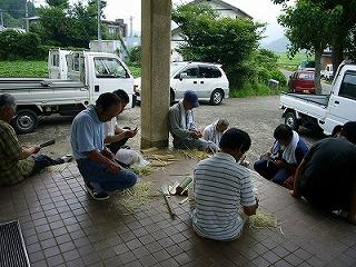 竹箸づくりの下準備