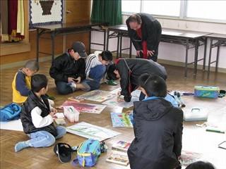 おとなと子どもの絵画教室