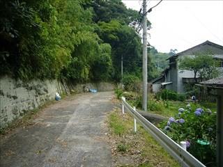 久小浦道の路