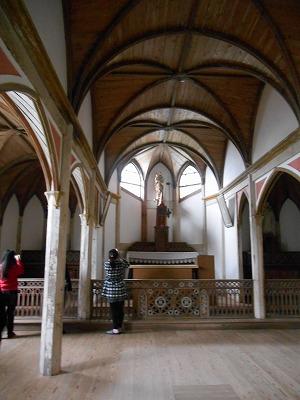 旧五輪教会内部
