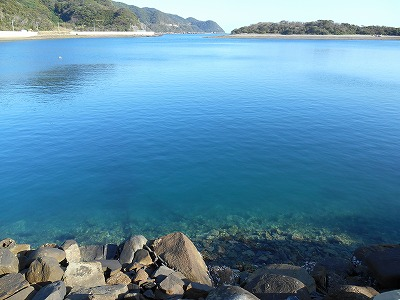 田ノ浦の海
