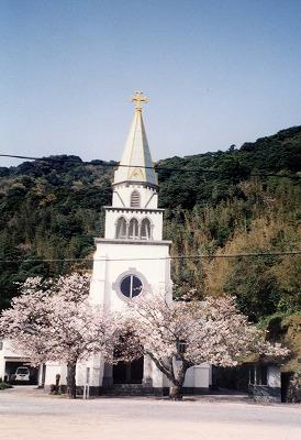 桜の浜脇教会