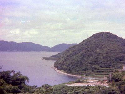 昭和53年・浜脇遠景