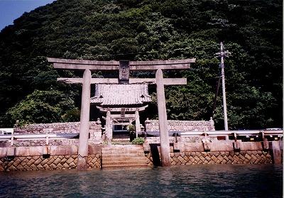 昔の田ノ浦神社