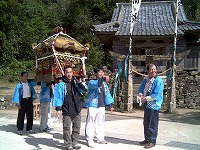 柳坂神社神輿