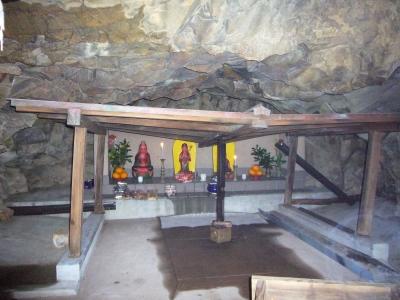 巌屋の観音洞窟