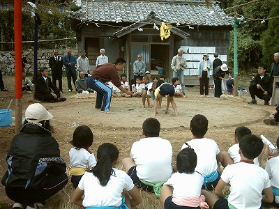 2013年奉納相撲