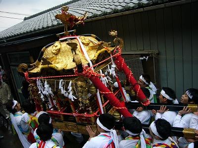 2008年の蕨神社例大祭