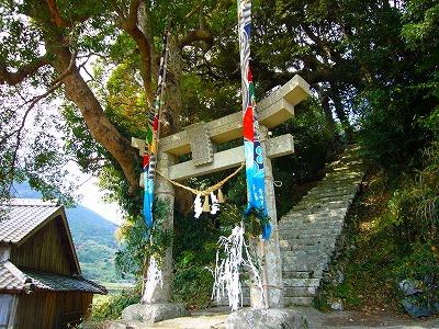石神神社鳥居