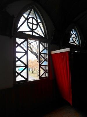 窓と告解室