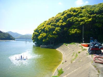 車エビ場と弁天島