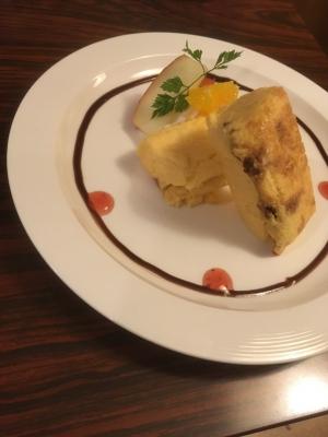 バターナッツカボチャのチーズケーキ