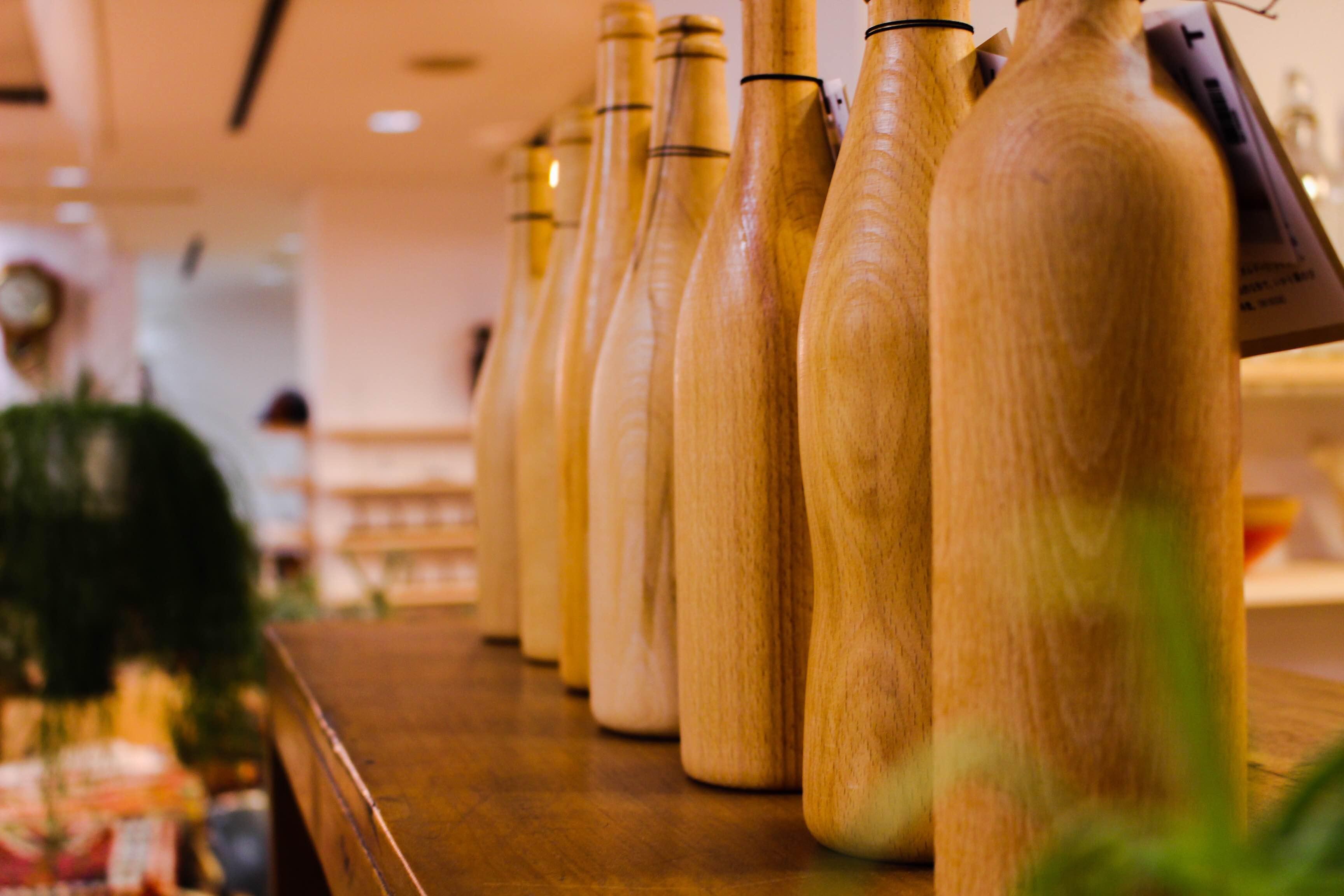 WOOD雑貨 ワインボトル
