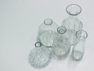 フラワーベース ガラス