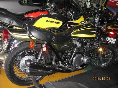 Kawasaki製バイク2