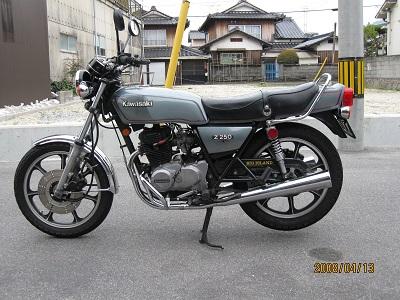 Kawasaki製バイク3