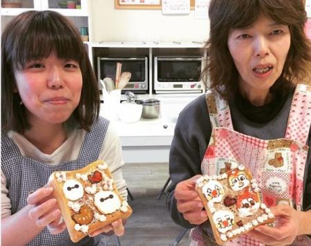 食パンアート:親子.jpg