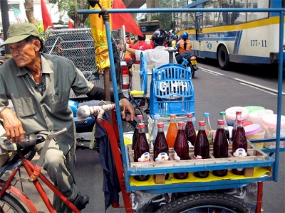 Shaved Ice Cart