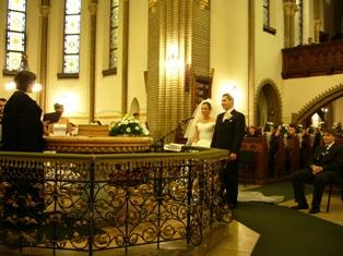ビクトール君の結婚式ー教会
