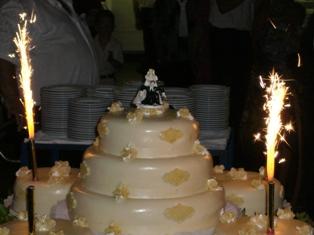 結婚式ケーキ・ハンガリー