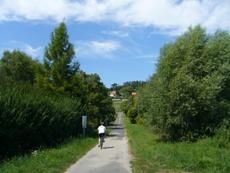 ハンガリー自転車道路