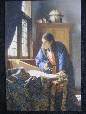地理学者 ヨハネス・フェルメールフェルメール以外にはオランダ・フランドルの歴史画や肖像画・風俗画